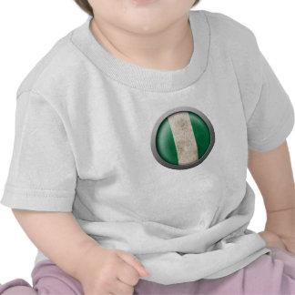 Flag of Nigeria Disc Tshirts