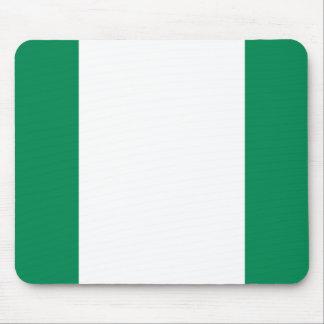 Flag of Nigeria Mouse Pad