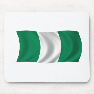 Flag of Nigeria Mousepads