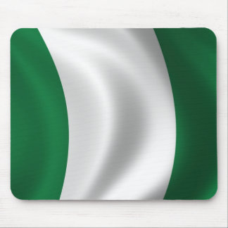 Flag of Nigeria Mouse Pads