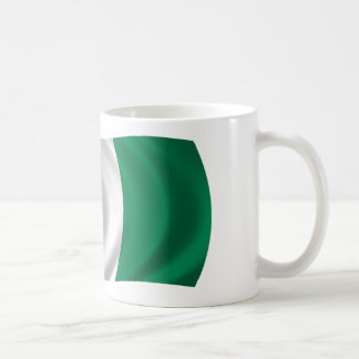 Flag of Nigeria Classic White Coffee Mug