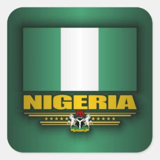 Flag of Nigeria Square Sticker