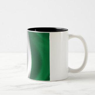 Flag of Nigeria Two-Tone Coffee Mug
