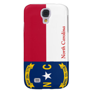 Flag of North Carolina Galaxy S4 Case
