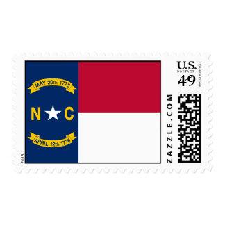 Flag of North Carolina Postage
