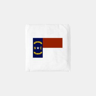 Flag of North Carolina Reusable Bag