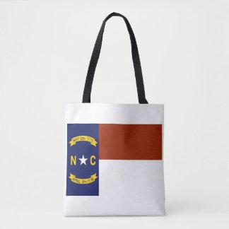 Flag of North Carolina Tote Bag