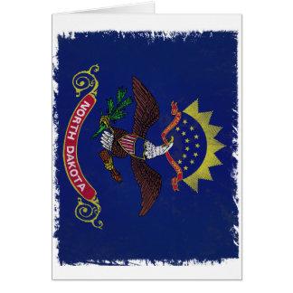Flag of North Dakota Card