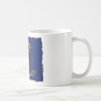Flag of North Dakota Coffee Mugs