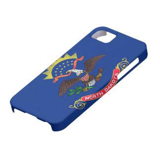 Flag of North Dakota iPhone SE/5/5s Case