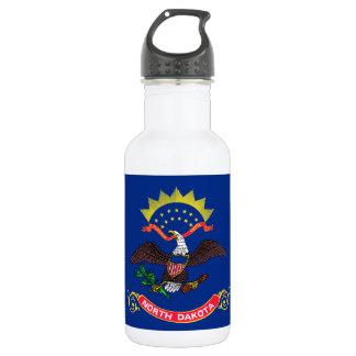 Flag of North Dakota Water Bottle