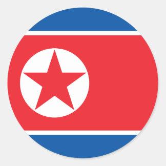 Flag of North Korea Sticker