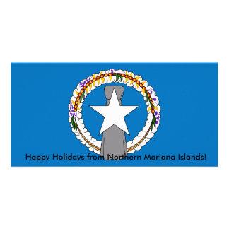 Flag of Northern Mariana Islands Card
