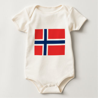 Flag_of_Norway Baby Bodysuit