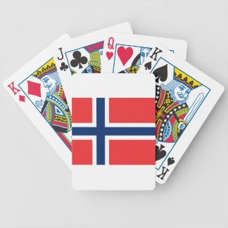 Flag_of_Norway Bicycle Playing Cards