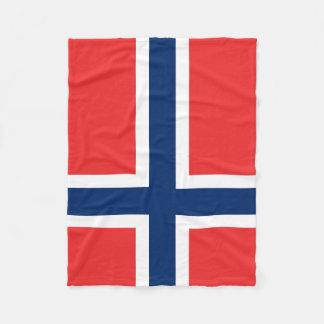 Flag of Norway Blanket Fleece Blanket