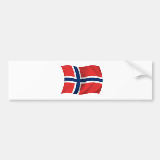 Flag of Norway Bumper Stickers
