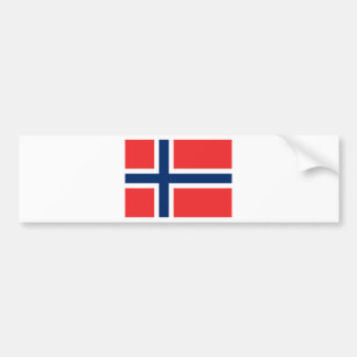 Flag of Norway Bumper Sticker