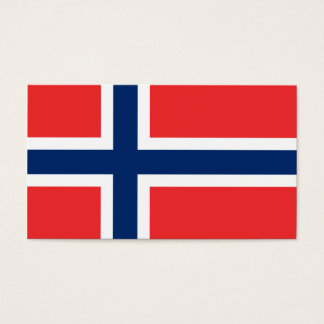 Flag of Norway  Business Cards