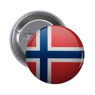 Flag of Norway Button