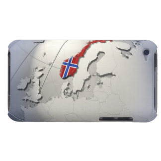 Flag of Norway iPod Touch Covers