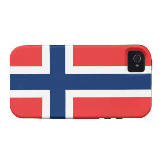 Flag of Norway Case-Mate iPhone 4 Cases