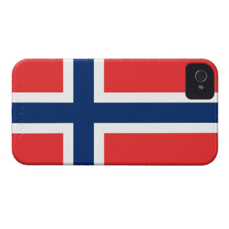 Flag of Norway iPhone 4 Case-Mate Case