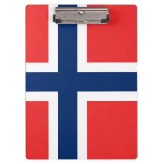 Flag of Norway Clipboard