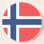 Flag of Norway Drink Coaster