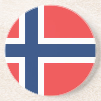Flag_of_Norway Drink Coaster