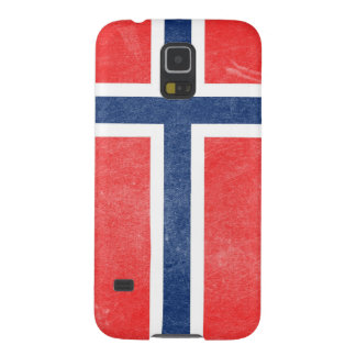 Flag of Norway Grunge Galaxy S5 Cover