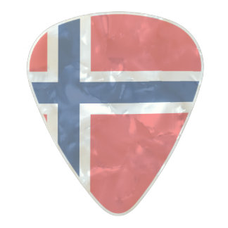 Flag of Norway Guitar Picks