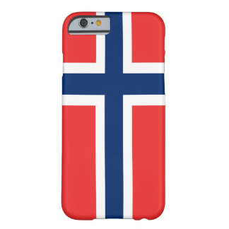 Flag of Norway iPhone 6 ID™ Barely There iPhone 6 Case