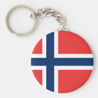 Flag of Norway Key Chain