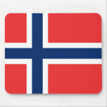Flag of Norway Mouse Pad