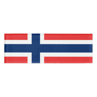 Flag of Norway Name Tag