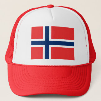 Flag of Norway - Norges flagg - Det norske flagget Trucker Hat