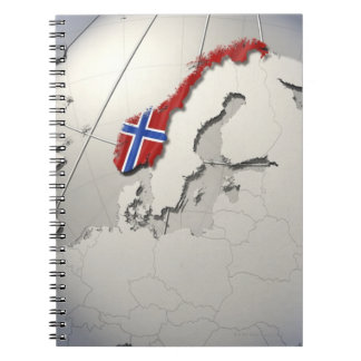 Flag of Norway Notebook