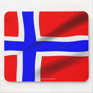 Flag of Norway Patriotic World Flags Mousepad