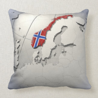 Flag of Norway Pillow