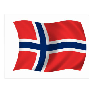 Flag of Norway Post Card
