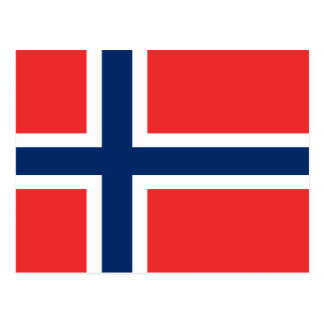 Flag of Norway Post Cards