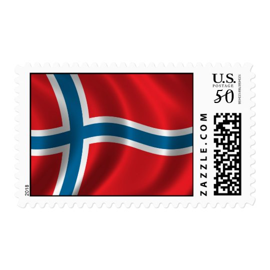 Flag of Norway Postage