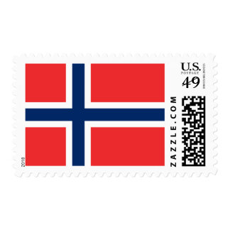 Flag of Norway Postage Stamps