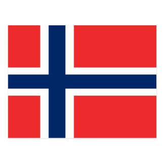 Flag of Norway Postcard