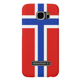 Flag of Norway Samsung Galaxy S6 Case