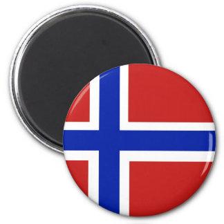 Flag of Norway Scandinavian Magnet
