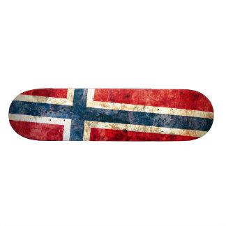Flag of Norway Skateboard Deck