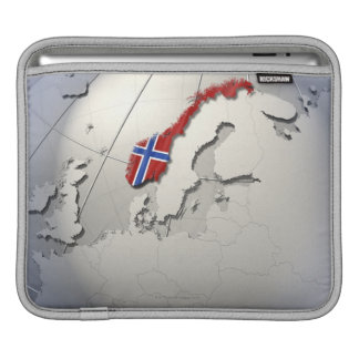 Flag of Norway Sleeve For iPads