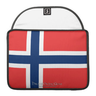 Flag of Norway Sleeve For MacBooks